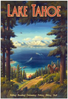 Visit Beautiful Lake Tahoe!
