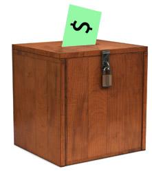 Money in the ballot box