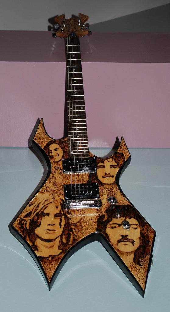 Best of Show - Black Sabbath Warlock by Brittany Brazil