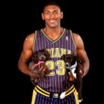 Ron Artest loves animals