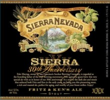 One of the four Anniversary beers is a collaboration between Ken Grossman (Sierra Nevada) and Fritz Maytag (Anchor Brewing)