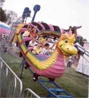 Photo of the Dragon Wagon.